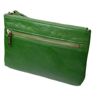 Castello Italian Leather Wristlet