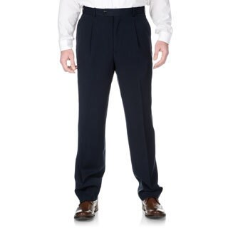 Adolfo Men's Slim Fit Navy Pant Separates