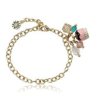Little Miss Twin Star 14k Gold Candyland Bracelet