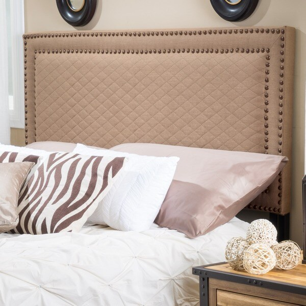 Villa Adjustable Full/ Queen Fabric Headboard by Christopher Knight Home