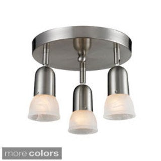 Avery Home Lighting Directional 3-light Semi Flush Mount Light