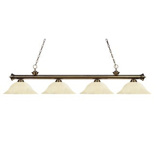 Z-Lite 4-light Billiard Fixture