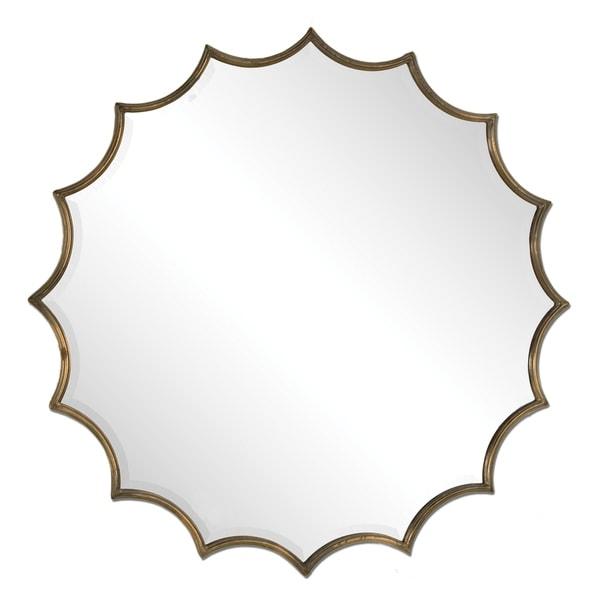 Uttermost San Mariano Starburst Mirror - 33.875x33.875x1