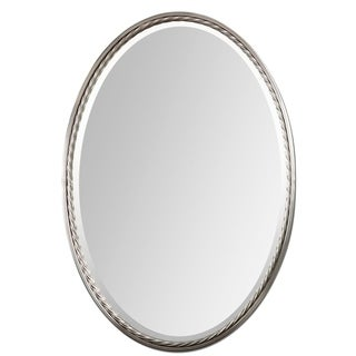 Uttermost Casalina Brushed Nickel Mirror