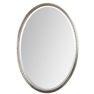 Uttermost Casalina Brushed Nickel Mirror - Brushed Nickel - 22x32x1.75