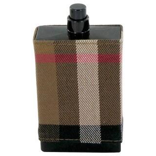 Burberry London Fabric Men's 3.4-ounce Eau de Toilette Spray (Tester)
