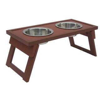 Medium Raised Russet Double Dog Diner|https://ak1.ostkcdn.com/images/products/8561953/P15838324.jpg?impolicy=medium