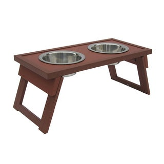 Small Raised Russet Double Dog Diner