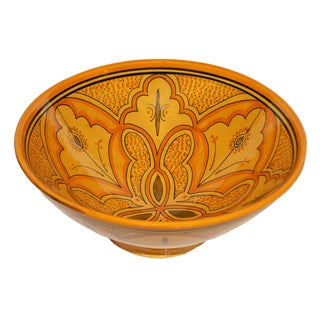 Handmade Lwimina Ceramic Bowl (Morocco)