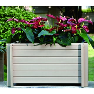EcoChoice Wood 30-inch Square Planter