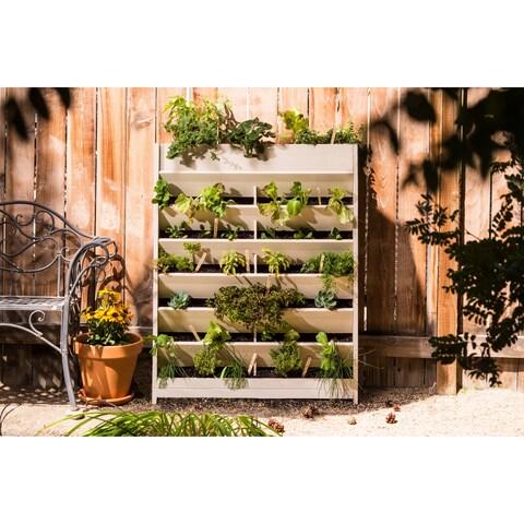 "ecoFLEX 45""W x 21""H Vertical Gardening Wall"