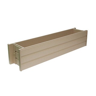NewAge Garden EPWB103-R36 EcoFlex Window Box Planter