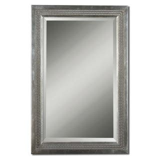 Uttermost Triple Beaded Silver Leaf Vanity Mirror|https://ak1.ostkcdn.com/images/products/8564190/P15840209.jpg?impolicy=medium