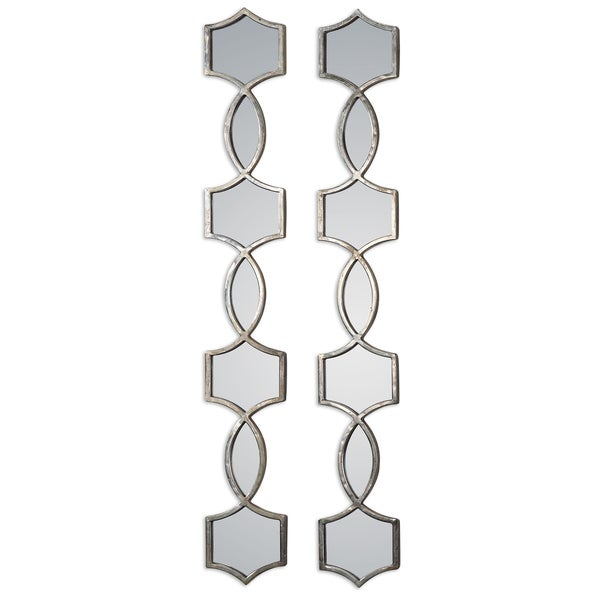 Shop Uttermost Vizela Oxidized Silver Mirror (Set of 2 ...