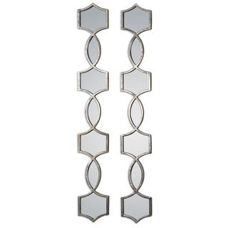 Uttermost Vizela Oxidized Silver Mirror (Set of 2)