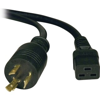 Tripp Lite 12ft Power Cord Extension Cable L6-20P to C19 for PDU/UPS
