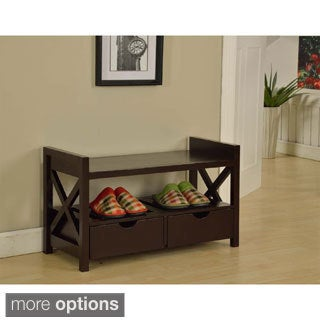 The Gray Barn Waggoner Entryway Storage Bench