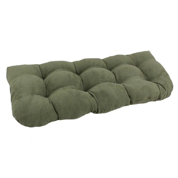 Shop Blazing Needles 42 Inch Microsuede Bench Cushion On