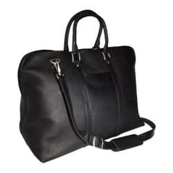 Royce Leather Vaquetta 'Gateway' 25in Duffel Bag Black