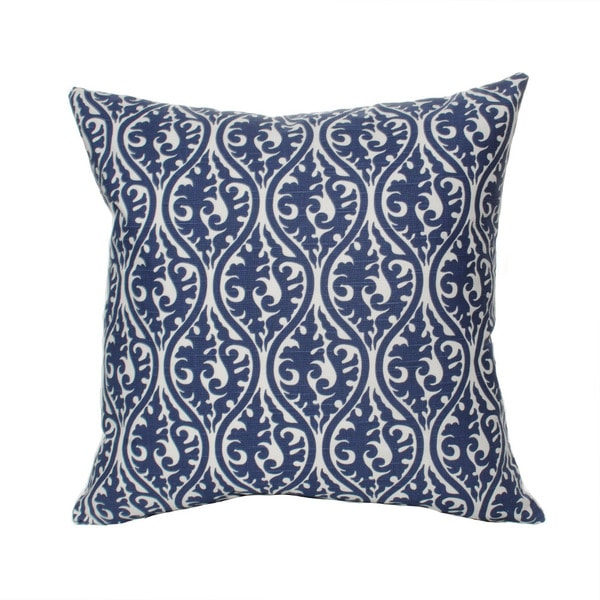 Blue Kimono Snorkle 20-inch Decorative Down Fill Pillow