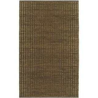 Natures Elements Wind Khaki Rug (6' x 9')