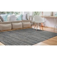 Couristan Nature's Elements Skyview/Denim Area Rug - 6' x 9'