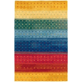 Oasis Rainbow Multicolored Rug (5'6' x 8')