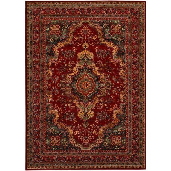 Old World Classics Kerman Medallion Rug (5'3 X 7'6)