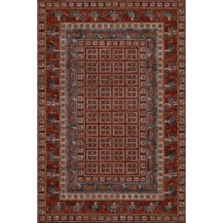 """Couristan Old World Classics Pazyrk/Antique Red Wool Area Rug - 5'3"""" x 7'6"""""""