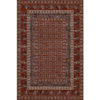 "Old World Classics Pazyrk Antique Red Area Rug - 6'6"" x 9'10"""