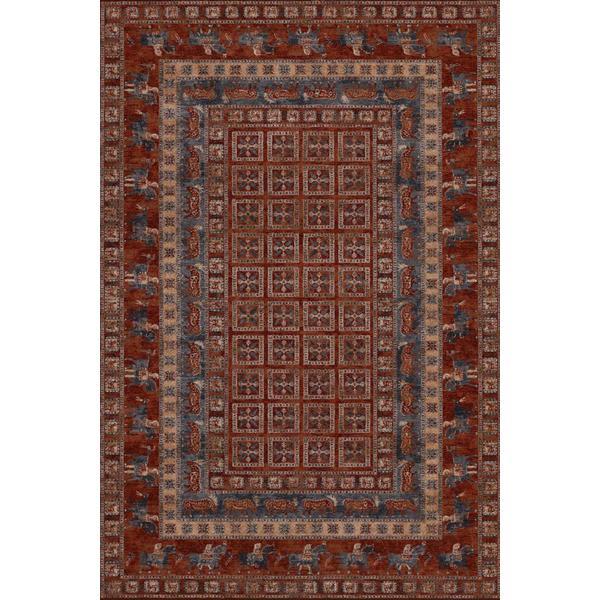 Old World Clics Pazyrk Antique Red Area Rug 7 X27