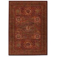 "Old World Classics Mamluken Burgundy Area Rug - 6'6"" x 9'10"""