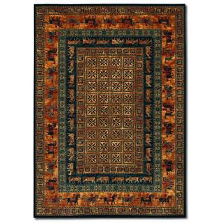 Old World Classics Pazyrk Burnished Rust Rug (6'6 x 9'10)