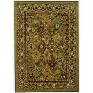 Royal Kashimar Persian Panel Hazelnut Wool Rug (7'10 x 11'1)
