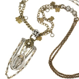 Sweet Romance Our Lady Divine Necklace