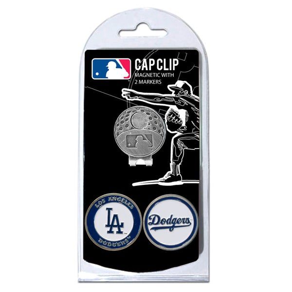 MLB Los Angeles Dodgers Magnetic Cap Clip and Marker Set
