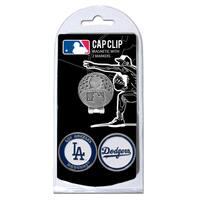 MLB Los Angeles Dodgers Magnetic Cap Clip and Marker Set