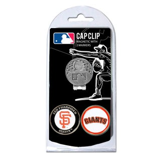 San Francisco Giants Magnetic Cap Clip and Marker Set