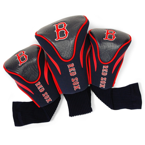 MLB Boston Red Sox Contour Wood Headcover Set