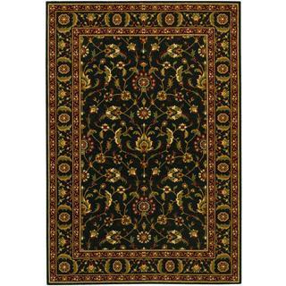 Royal Luxury Brentwood Ebony Wool Rug (7'10 x 11'1)