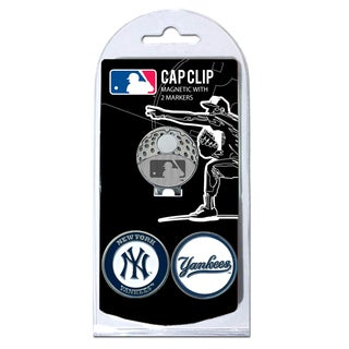 MLB New York Yankees Magnetic Cap Clip and Marker Set