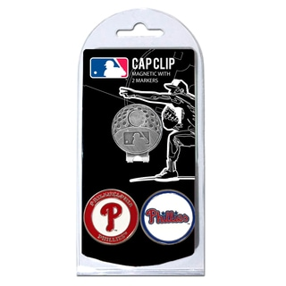 MLB Philadelphia Phillies Magnetic Cap Clip and Marker Set