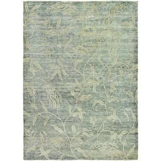 Couristan Sagano Keiko/Grey-Cream Area Rug - 5'6 x 8'