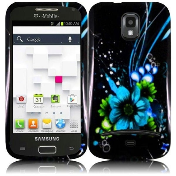 INSTEN Flower Hard Plastic Snap-on Phone Case Cover for Samsung Galaxy S Blaze 4G/ S Relay T-Mobile