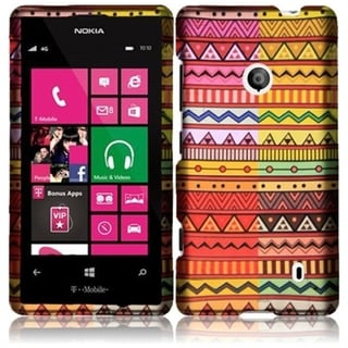 INSTEN Geometric Aztec Phone Case Cover for Nokia Lumia 521