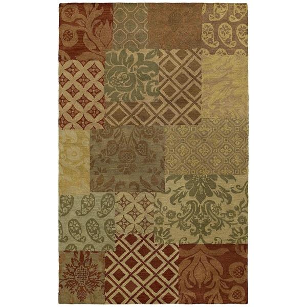 St. Joseph Multi Prints Hand-Tufted Wool Rug (8' x 10')