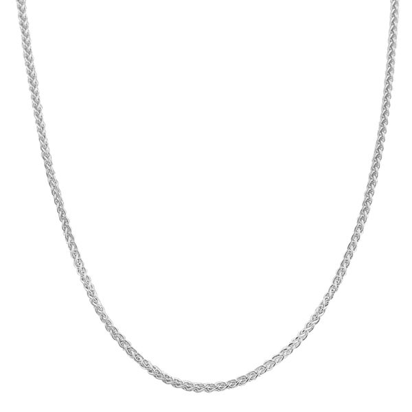 Fremada Sterling Silver 1.1-mm Round Wheat Chain (16 - 30 inch)