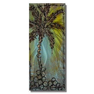 Marina Rehrmann 'California Palm' Metal Wall Art