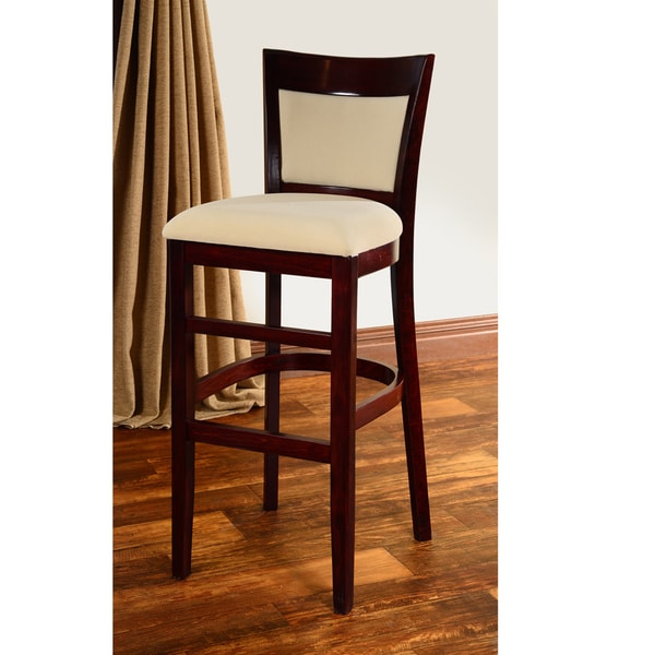 Hyatt Wood Barstool Free Shipping Today Overstock Com