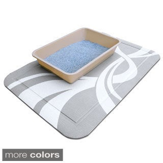 PetFusion SmartGrip Cat Litter Box Mat